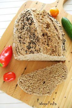 Szybki chleb bez drożdży - razowy na sodzie - WegePedia Vegan Vegetarian, Gluten Free, Cooking, Breakfast, Breads, Food, Recipies, Glutenfree, Kitchen