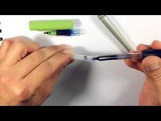 Pilot Parallel Pen Refill Demo - YouTube
