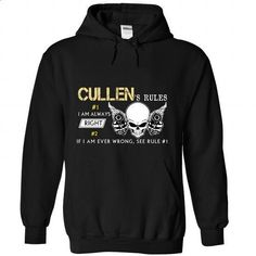 6 CULLEN Rules - #cute tshirt #gray sweater. ORDER HERE => https://www.sunfrog.com//6-CULLEN-Rules-6833-Black-Hoodie.html?68278