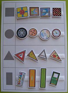 """Identificamos las formas geométricas en objetos """"reales"""""""