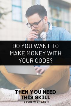 This One Thing Will Make You Valuable As A Developer   When it comes to learning the skills to become a web developer it's pretty simple. But there are programmers who got into coding to learn how to make money from their valuable skills. Yet they didn't develop this important skill that can make a huge difference. Whether you're trying to get a job or start freelancing. This one skill will put you one step closer to success.   web developer   learn to code #businesstips Learn Computer Science, Computer Programming, How To Start A Blog, How To Make Money, How To Become, Business Tips, Online Business, Coding For Beginners, Learning Web
