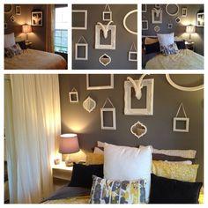 New paint! New comforter! New room!