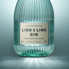 Gorgeous Gin Bottle via Contagious.