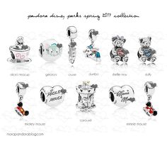Disney Park Exclusive Pandora Charms For Spring 2017 Sneak Peak!