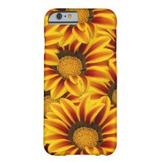 Orange and Yellow Gazania Flowers Barely There iPhone 6 Case - This bold and colorful iPhone case features a beautiful orange and yellow Gazania flower repeated in an eye-catching pattern in a photographic montage. http://www.zazzle.com/orange_and_yellow_gazania_flowers_case-179376673988356784?rf=238083504576446517&tc=pint