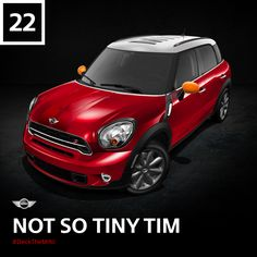 "They don't call the MINI Countryman the ""Big MINI"" for nothing. No matter the size, we're always fans of the underdog with a big heart. #DeckTheMINI"