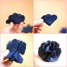 #DIY, #craft flower Beautiful flower