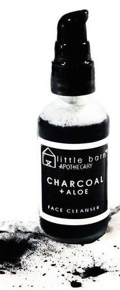 Little Barn Apothecary : Charcoal + Aloe Face Cleanser