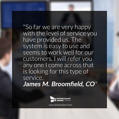 At Merchant Advisors, we strive to provide quick financing solutions and exemplary service to small businesses. But don't take our word for it. Hear from our customers what they have to say about us. #testimonials #customerstory #successstory