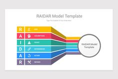 RAIDAR Model Keynote Template is a professional Collection shapes design and pre-designed template that you can download and use in your Keynote. The template contains 11 slides you can easily change colors, themes, text, and shape sizes with formatting and design options available in Keynote. Shape Design, Keynote Template, Color Change, Shapes, Templates, Colors, Model, Collection, Google