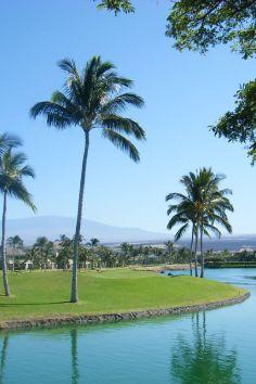 Waikoloa Beach in Hawaii.