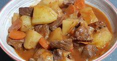Un estofado de esos que se hacen a fuego y lento y que hacen que la carne sepa a gloria. ¡Toma nota de cómo se prepara! Other Recipes, Pot Roast, Paella, Main Dishes, Pork, Chicken, Meat, Ethnic Recipes, Pork Stew