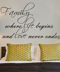 Look what I found on #zulily! 'Family' Decal #zulilyfinds