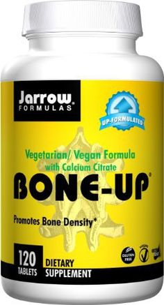 Jarrow Formulas Bone-Up (Vegetarian), Promotes Bone Density, 120 Easy-Solv Tabs - This is a high quality product with thoughtful design.This Jarrow that is rank Vegan Calcium, Vitamin D2, Calcium Citrate, Vegan Vitamins, Vegan Meal Plans, Bone Density, Vegan Vegetarian, Health And Beauty, Nutrition