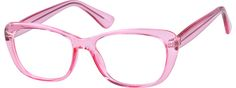 Order online, women pink full rim acetate/plastic cat-eye eyeglass frames model #2016719. Visit Zenni Optical today to browse our collection of glasses and sunglasses.
