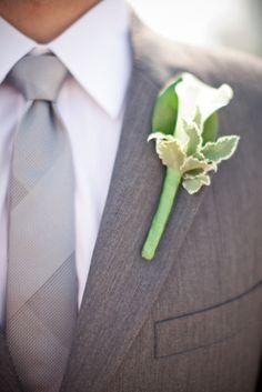 Grey Suit w/ grey tie