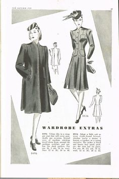 This CD contains pages from the Butterick Fashion Magazine Autumn 1939. We included all the pages in this catalog. Autumn 1939. | eBay!