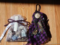 Mini Kitchen Witch  Iris by TheWillowsRaven on Etsy