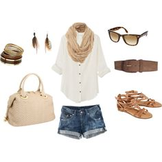 Summer casual on Polyvore