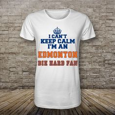 Edmonton Oilers i cant keep calm hockey shirt by ElizaHoughStore