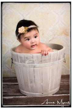 Artistic and modern in East Bay studio baby portraits using fun props. #baby #babyportraits #babyphotography