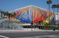 visit an exhibit at LACMA #ridecolorfully