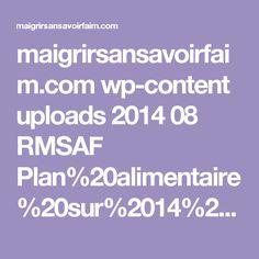maigrirsansavoirfaim.com wp-content uploads 2014 08 RMSAF Plan%20alimentaire%20sur%2014%20jours.pdf