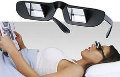 Read and watch tv from the bed without damaging your neck