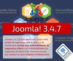 URGENTE >> Actualize a sua versão do Joomla!