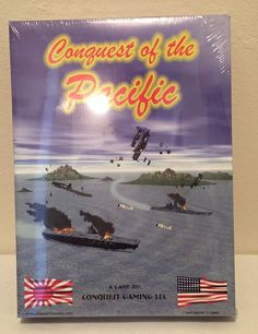 Conquest Of The Pacific WW II Game New In Sealed Box  #ConquestGaming