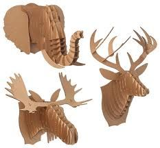 cardboard animals - Google Search