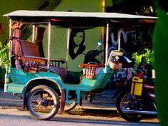 Quirky Tuk Tuk in Cambodia