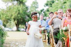 sweet flower girl #wedding | Daniel Kim