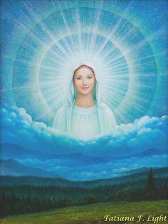 «Joy of the world» painter  Tatiana F. Light «Радость мира»