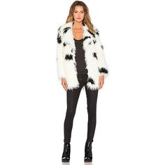 Cheap Monday Faux Fur Curl Jacket Jackets & Coats ($193) ❤ liked on Polyvore featuring outerwear, coats, coats & jackets, cheap monday coat, faux fur coats, cheap monday, fake fur coats and white coat