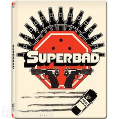 Buy Superbad - Gallery 1988 Range - Zavvi Exclusive Limited Edition Steelbook Only) from Zavvi, the home of pop culture. Take advantage of great prices on Blu-ray, merchandise, games, clothing and more! 40 Year Old Virgin, Michael Cera, Superbad, Blu Ray Movies, Hits Movie, Cult Movies, Love Movie, Graphic Design Typography, Movies Showing