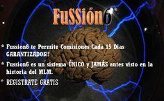 FUSSION6, es sin duda el mejor reparto de REDISTRIBUCIÓN DE RIQUEZAS de nuestra era. Que por sólo 5$ puedes iniciarte en un proyecto moderno, de tendencia y, que va a durar muchos años. http://fussion6.eu/