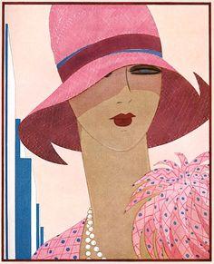 Art Decó style poster art.