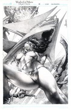 Warlord of Mars Dejah Thoris issue 31 Comic Art