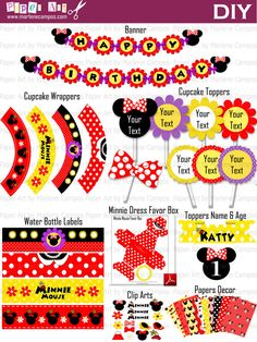 Minnie Mouse Classic DIY