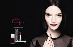 The sensuously matte lipstick unveils its newest campaign #GivenchyBeauty #LeRouge #Lipstick