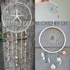 Seashell Dream Catcher DIY