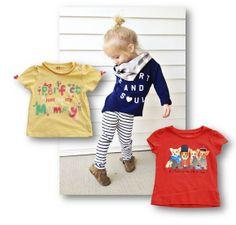 Camisetas con mensaje para niños