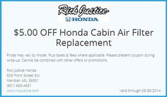 honda pilot cabin air filter walmart