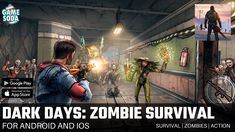 Dark Days: Zombie Survival | Gameplay for Android and iOS | Survival | Gamesoda - YouTube Free Mobile Games, Ios, Survival, Android, Adventure, Dark, Concert, Youtube, Concerts