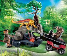 Playmobil Treasure Hunter with Metal Detector 4847B