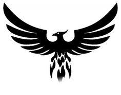Эскизы тату феникс | ТриТатушки