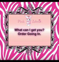 WHAT CAN I GET YOU?  Www.pinkzebrahome.com/savorthesprinkles