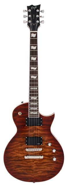 ESP Eclipse II, Aged Cherry Sunburst