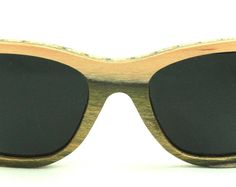 Wooden Sunglasses handmade from upcycled skateboards by Wooden Sunglasses, Skateboards, Eyewear, Upcycle, Trending Outfits, Unique Jewelry, Handmade Gifts, Green, Vintage